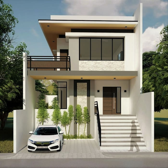 Proposed 2 Storey Zen Type Residence Houses By Yaoto Design