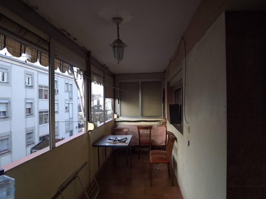 Terraza Salón Balcones Y Terrazas De Estilo Escandinavo De