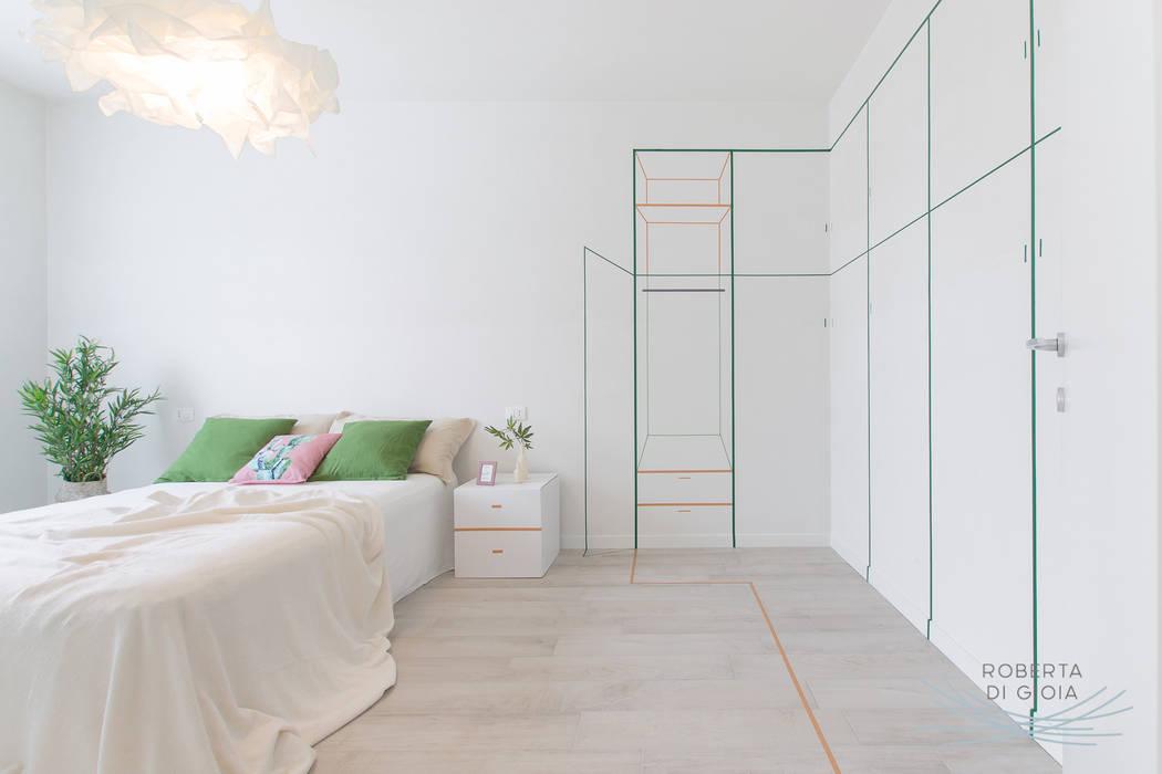 Valorizzazione immobiliare e servizio fotografico in appartamento in cantiere: Camera da letto in stile  di Home Staging & Dintorni
