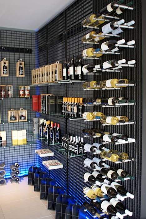 Personalized Wine Rack by Cobermaster Concept Bodegas de vino de estilo moderno de Cobermaster Concept Moderno Hierro/Acero