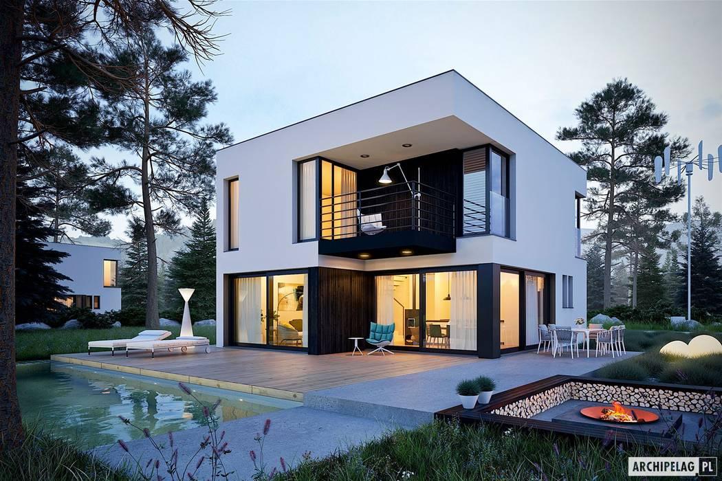 Detached home by Pracownia Projektowa ARCHIPELAG, Minimalist
