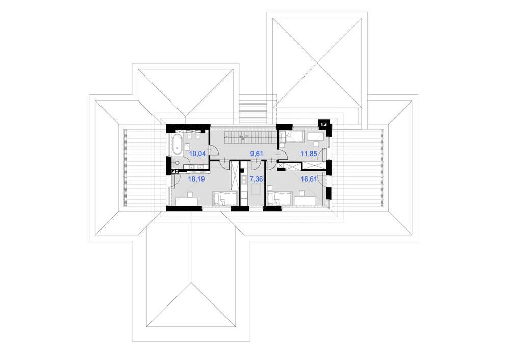 Стены в . Автор – TISSU Architecture