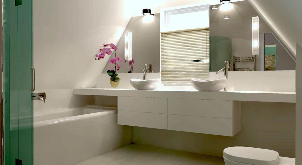 Spiegels Op Maat : Badkamer op zolder met badmeubel en spiegels op maat door