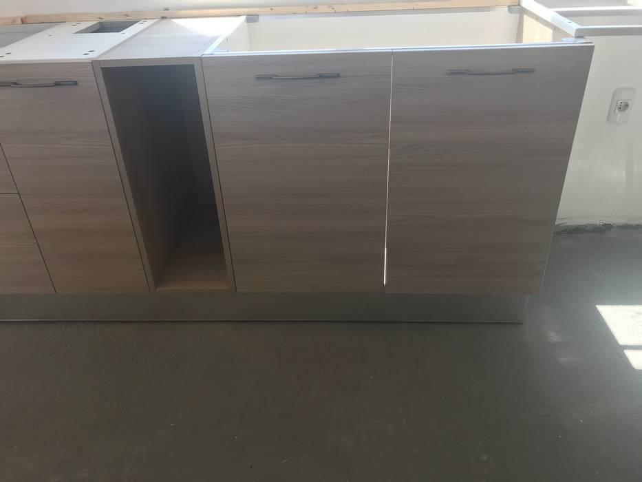 Vivienda Premium 115m2 Fundo Loreto. Territorio Arquitectura y Construccion - La Serena Muebles de cocinas Cuarzo Beige