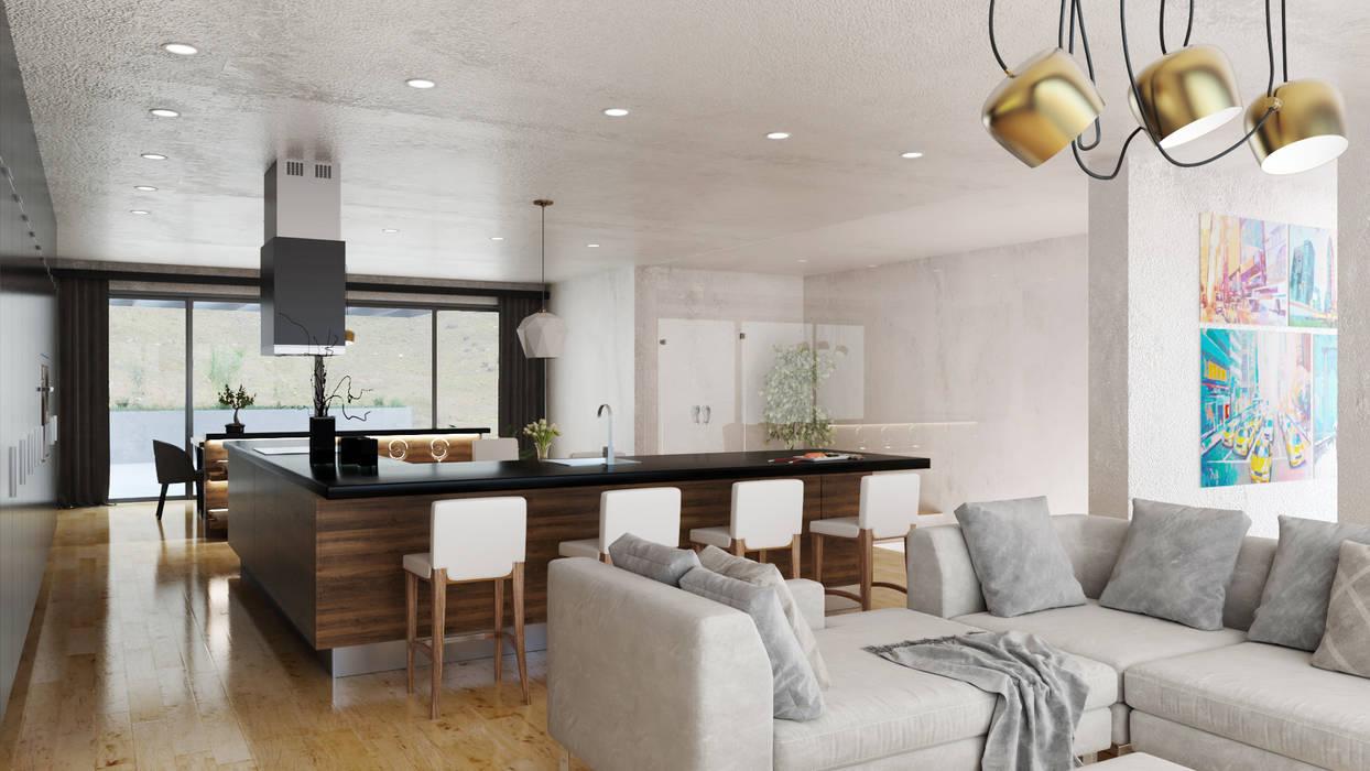 Living Area 3 7Storeys Minimalist living room