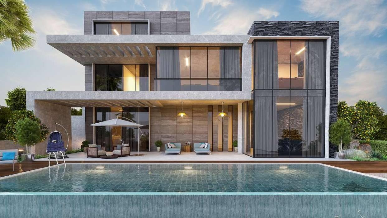 Urla Kekliktepe Villa Modern Evler VERO CONCEPT MİMARLIK Modern