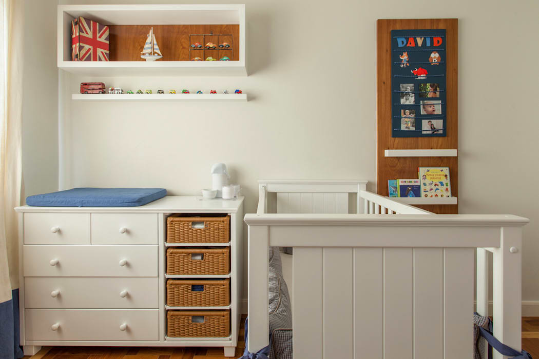 Marcella Loebが手掛けた赤ちゃん部屋,
