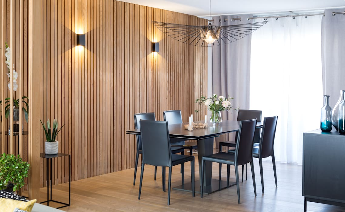 Modern dining room by Julie Chatelain Modern