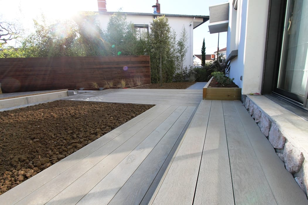 Modernisation d'un jardin sur Toulouse KAEL Createur de jardins