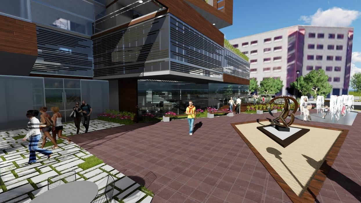 Edificio Multifamiliar Arquitectura Bioclimatica Balcones Y