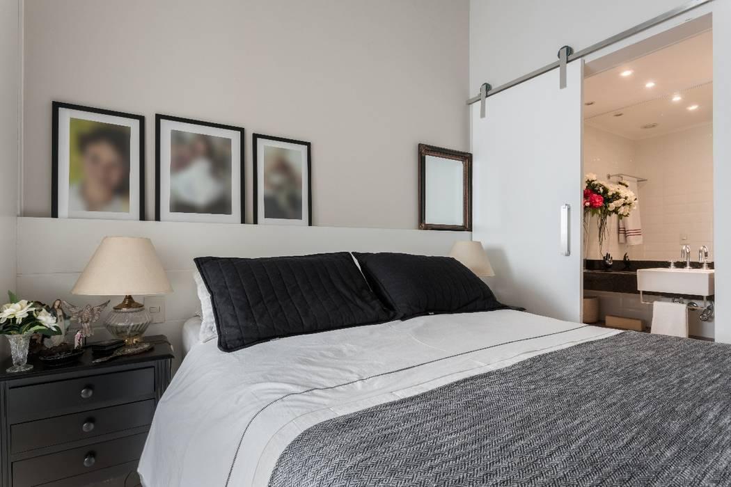 Studio Ideação Kamar Tidur Klasik Beton White