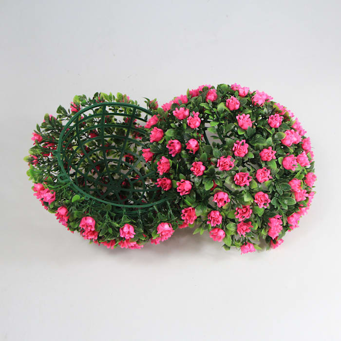 Artificial Topiary Balls, Pink Color: country  by Sunwing Industrial Co., Ltd.,Country Plastic