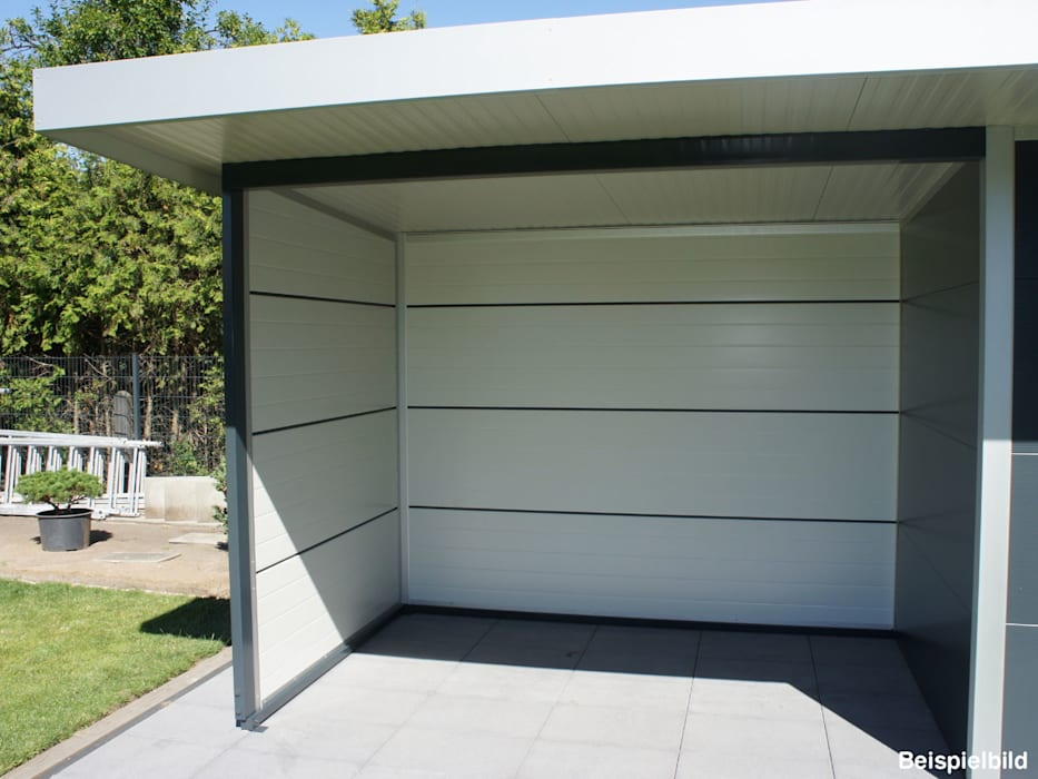 Top Garden shed by trapezblech gonschior ohg, modern metal | homify RN44