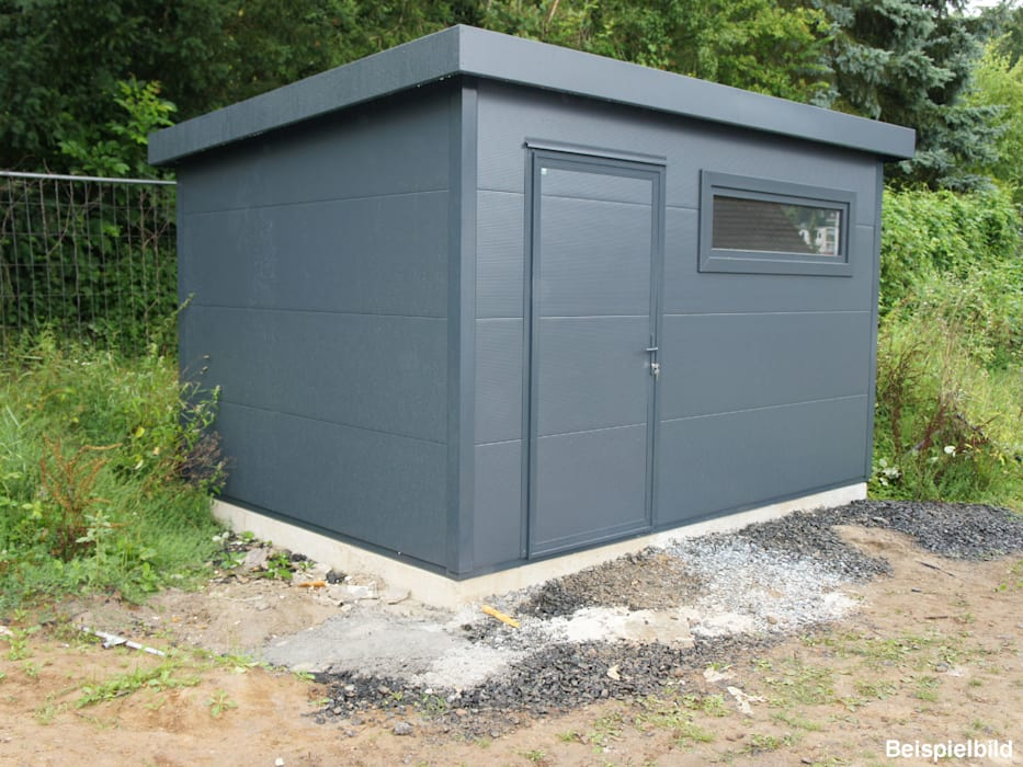 Garden Shed by Trapezblech Gonschior oHG,