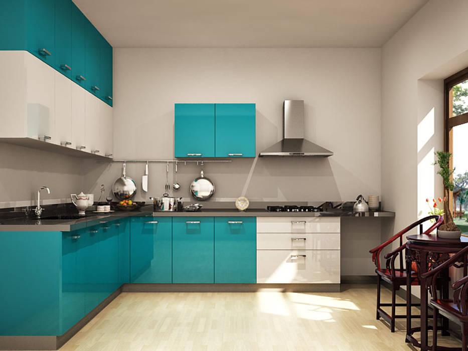 Modular kitchen design ideas: asian by homelane.com,asian ...