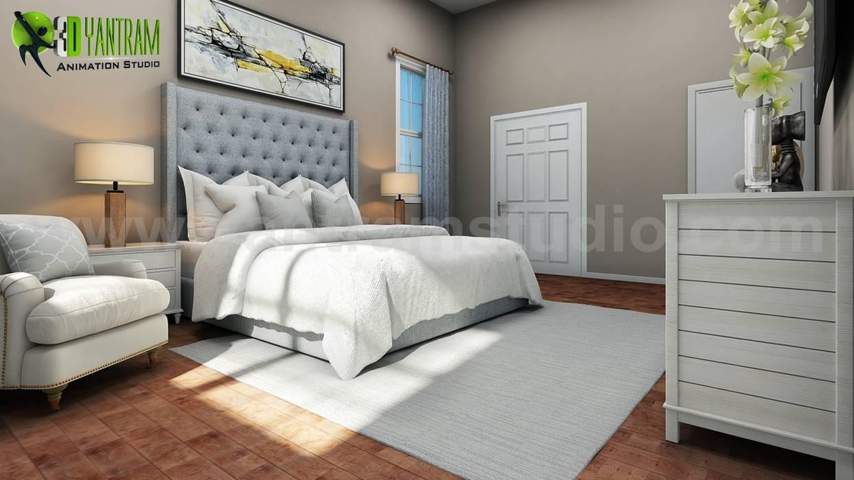 . Master bedroom interior design ideas  bedroom by yantram