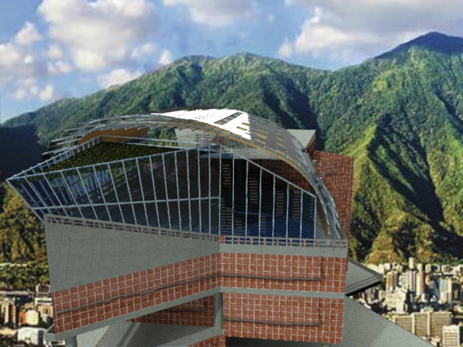 Propuesta Arquitectónica Cubierta Ecoeficiente Para El