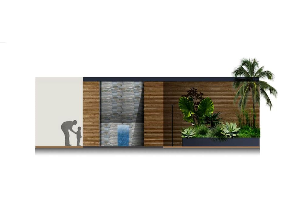Ecossistemas Modern style gardens