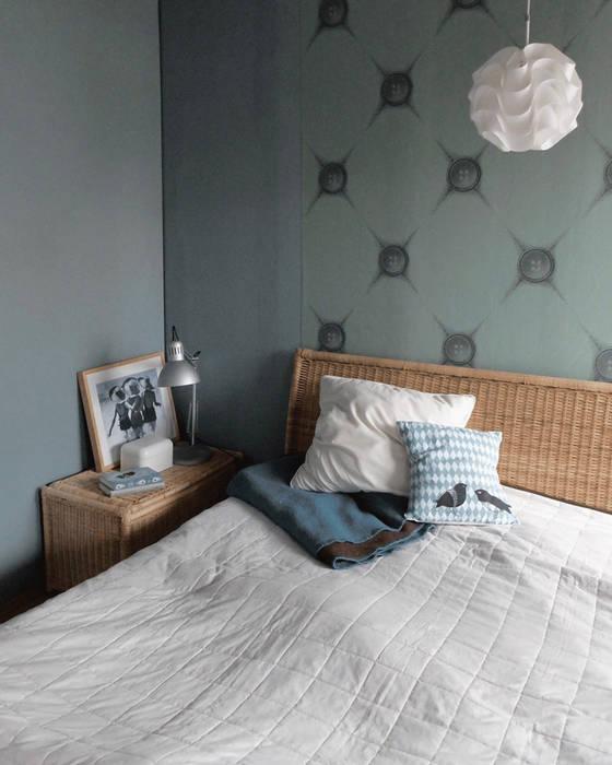 2-zimmer-appartement münchen: schlafzimmer von stadtbude | homify