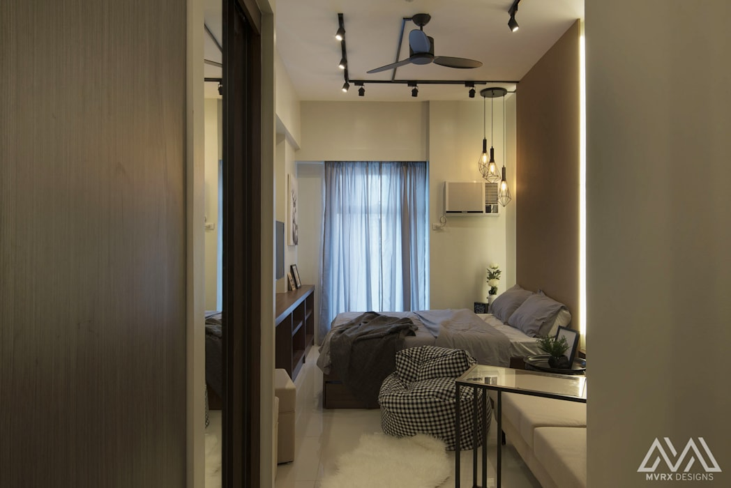 Brooklyn Vibe - The Currency:  Corridor and hallway by MVRX Designs,