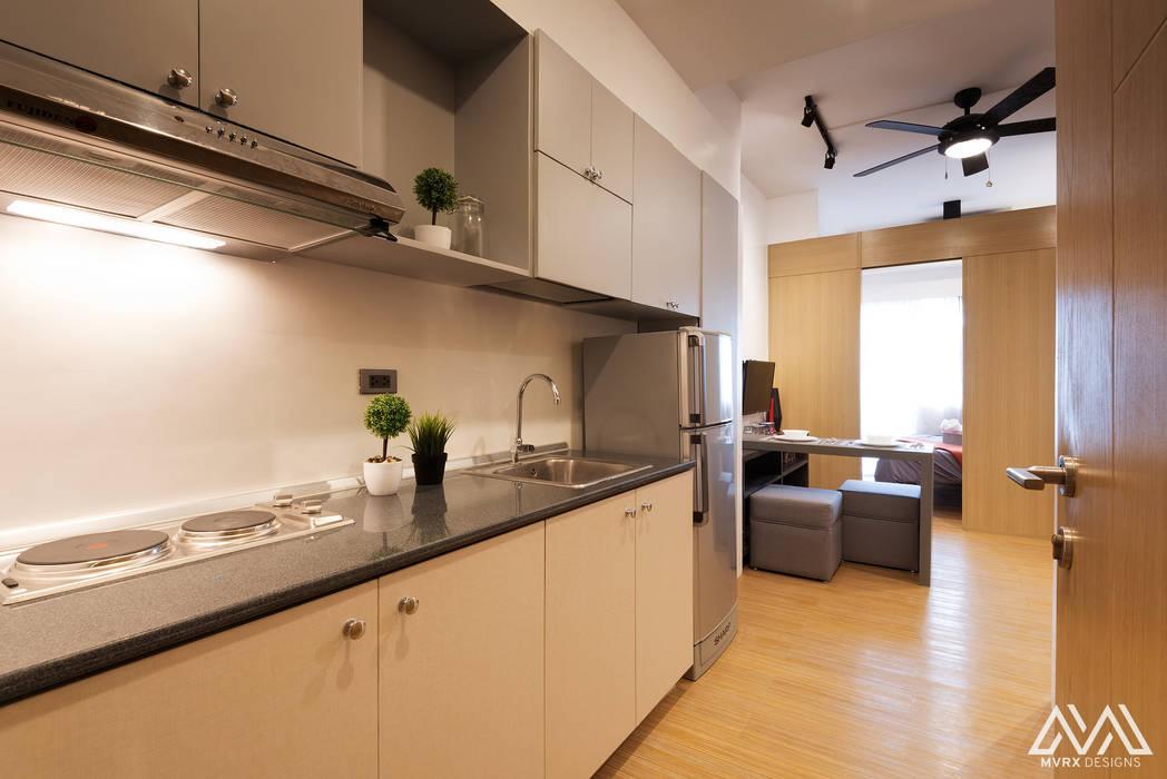SMDC Grace:  Kitchen by MVRX Designs, Modern