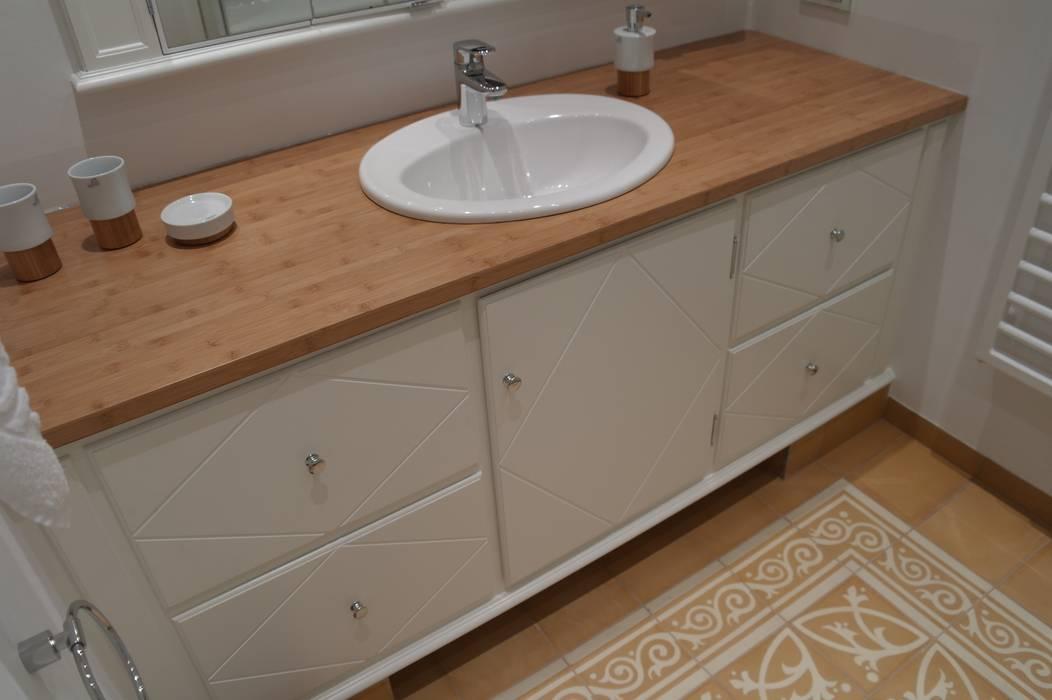 Waschtisch badezimmer im landhausstil von meyerfeldt ...