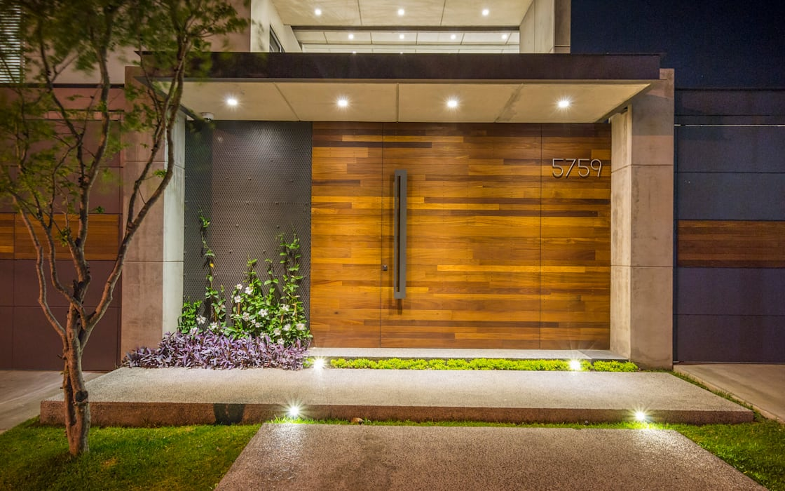 Modern style doors by René Flores Photography Modern