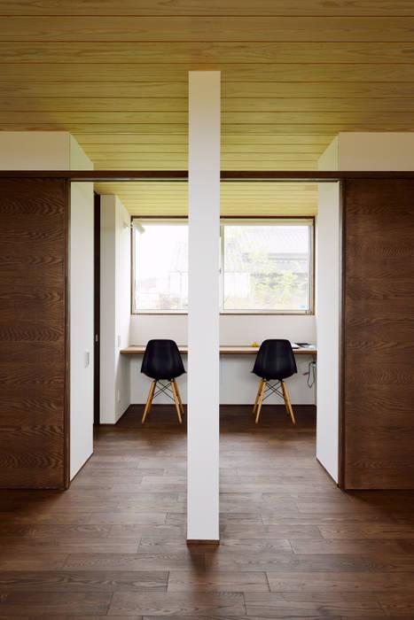 Scandinavian style study/office by kisetsu Scandinavian