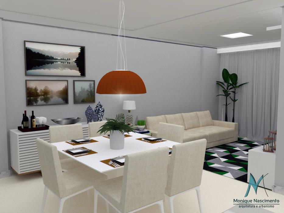 Vista 3: Salas de jantar  por MN Arquitetura e Urbanismo