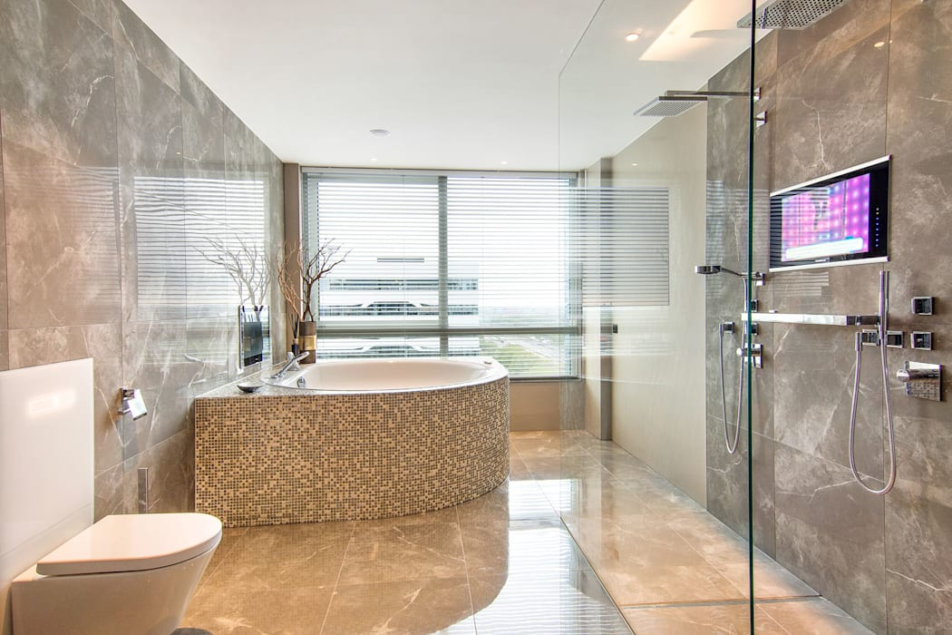 Luxe Badkamers Amsterdam : Luxe badkamer met whirlpool bad badkamer door cleopatra bv homify