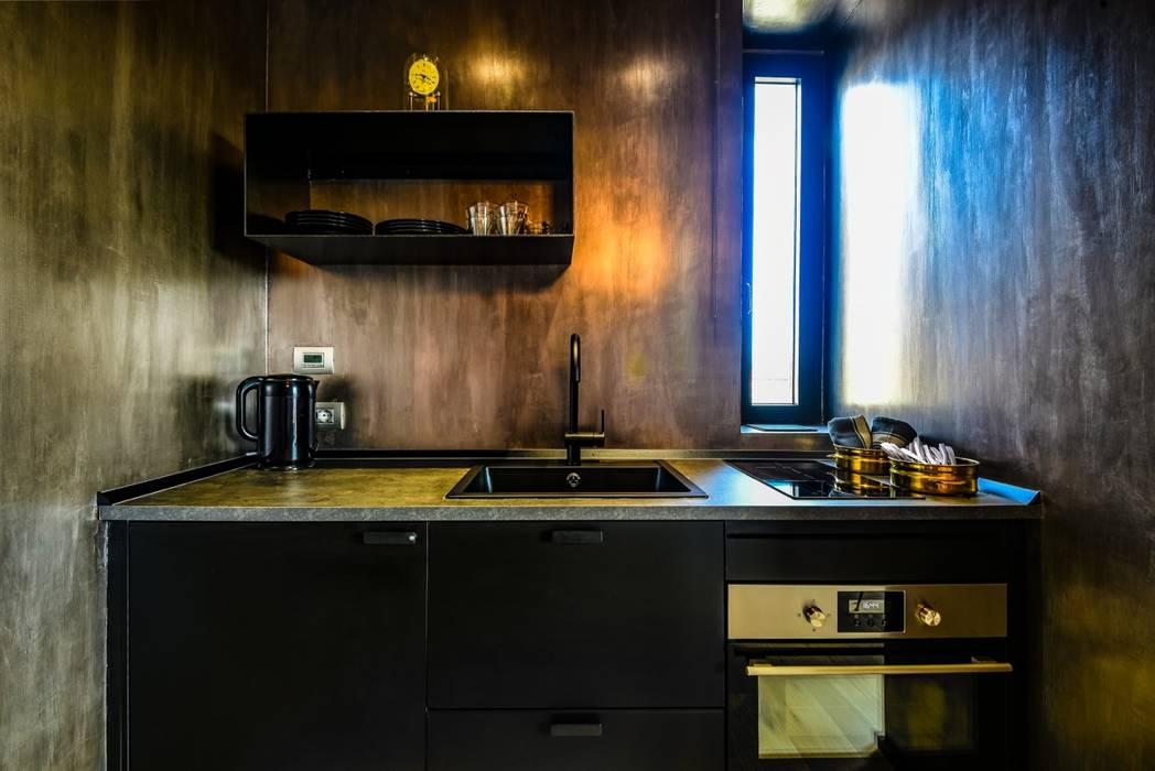 Borgo 48 di Arabella Rocca Architettura e Design Eclettico Argento / Oro