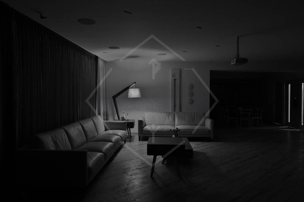Moderne Wohnzimmer von SPACCE INTERIORS Modern