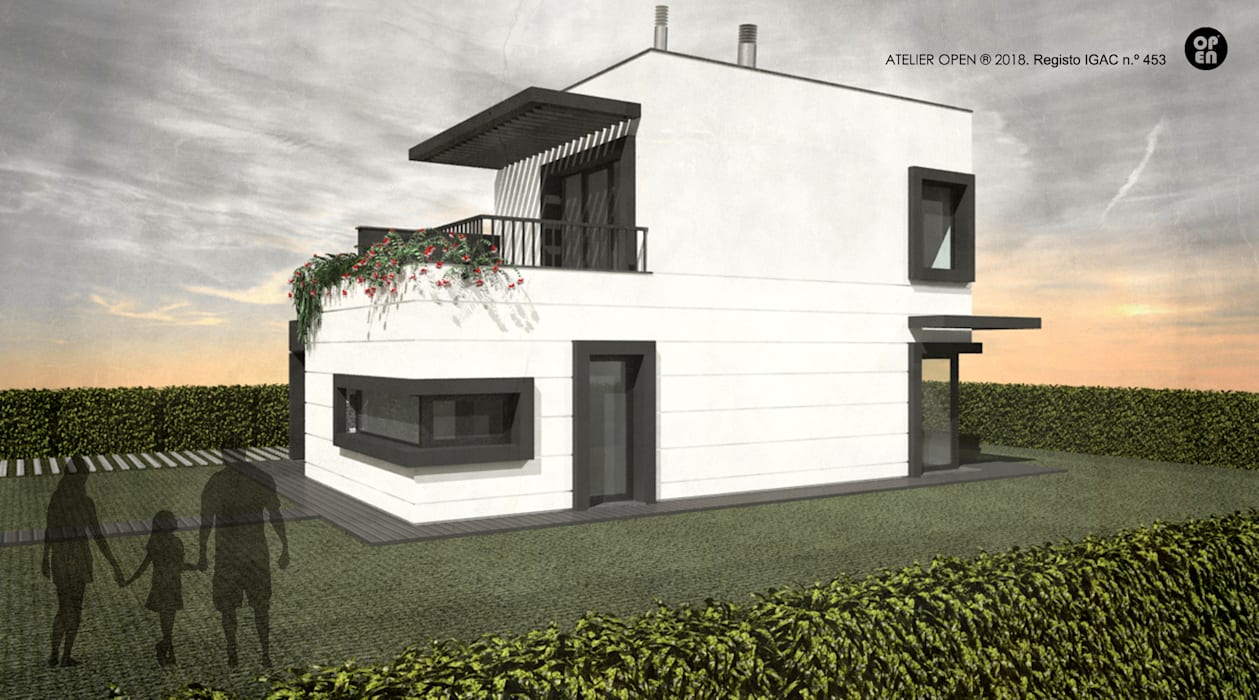 Nhà thép tiền chế by ATELIER OPEN ® - Arquitetura e Engenharia