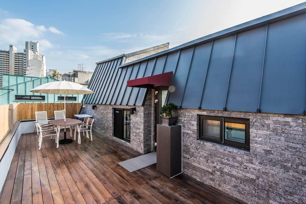 소유재: 오파드 건축연구소의  베란다