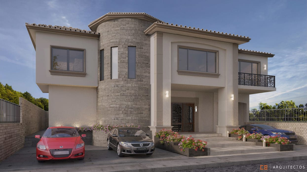 C8 | ARQUITECTOS Detached home Stone Beige