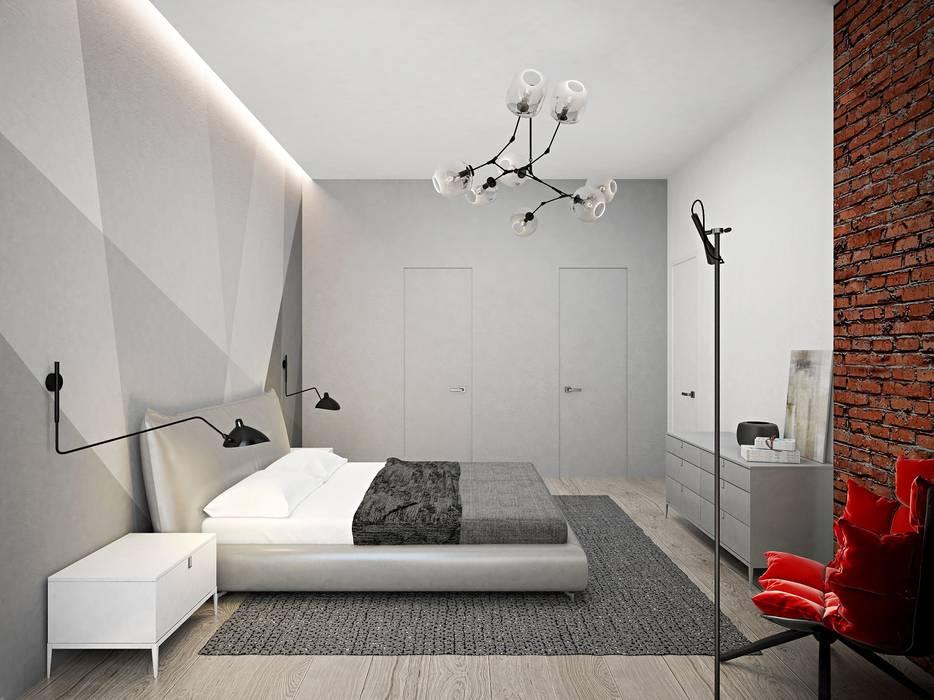 Industriële slaapkamer door archduet&da   homify
