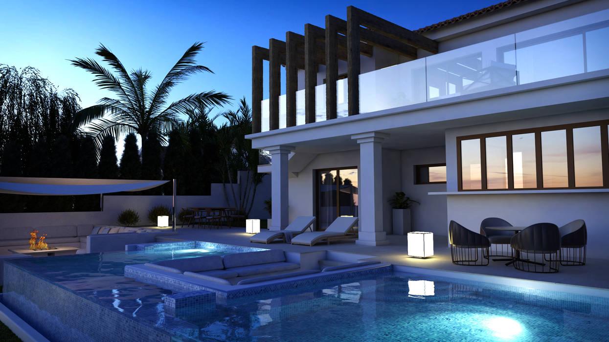 Expansion of villa in Rojales (Alicante) 根據 Pacheco & Asociados 古典風