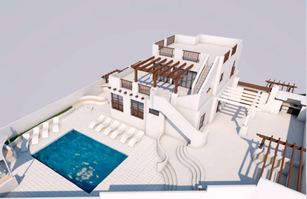 Expansion of Villa in Los Balcones, Alicante by Pacheco & Asociados Середземноморський