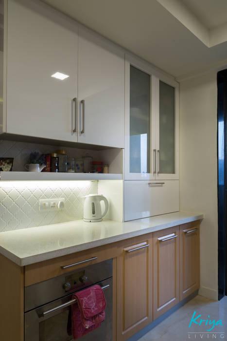 3 BHK Apartment - Raheja Pebble Bay by KRIYA LIVING Modern