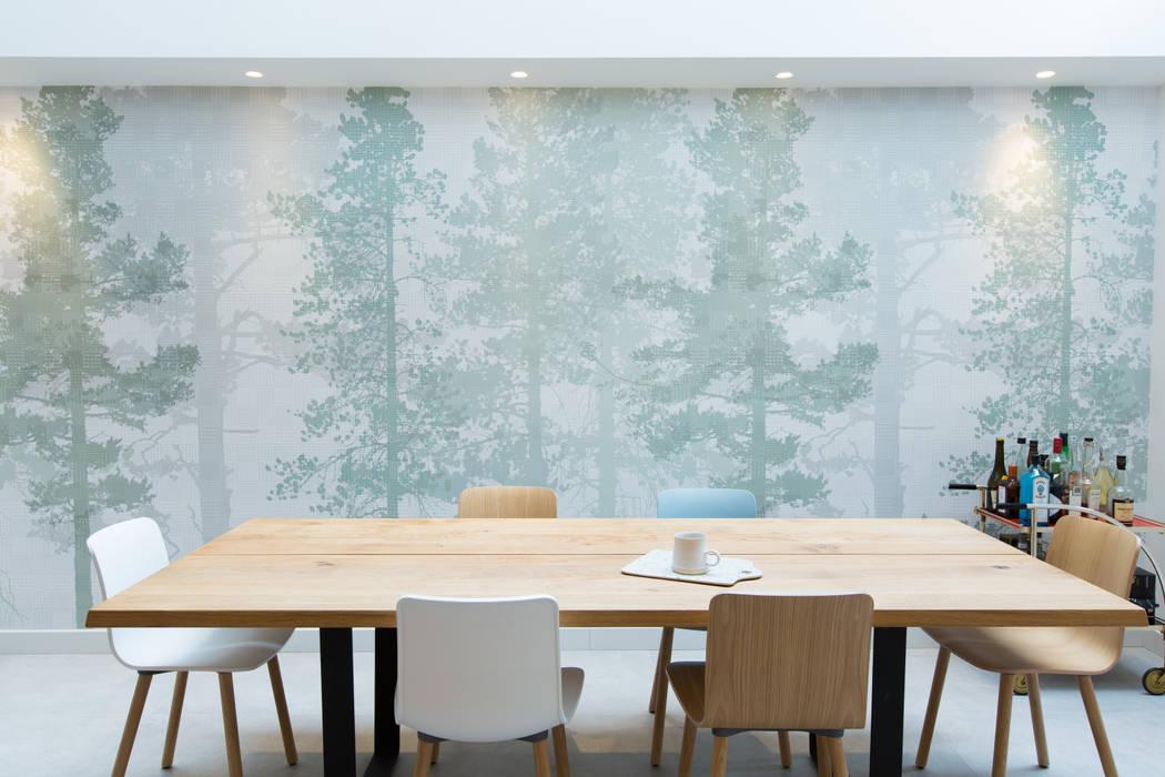 London townhouse - Nordic styling by My-Studio Ltd Scandinavian Wood Wood effect