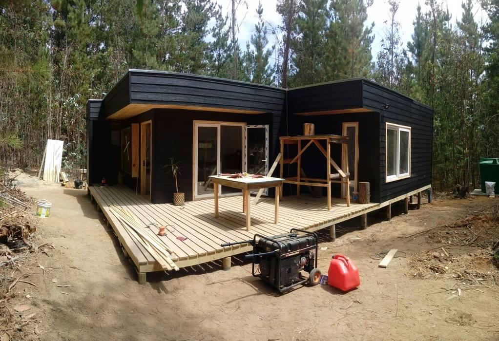 Casas de madera: Casas de madera de estilo  por Incove - Casas de madera minimalistas