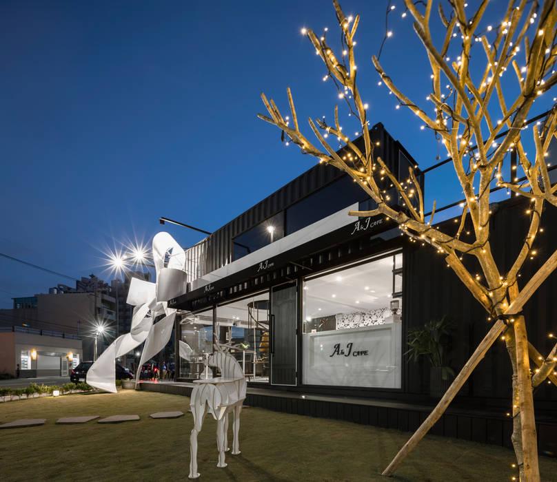 光影:  餐廳 by 存果空間設計有限公司, 現代風