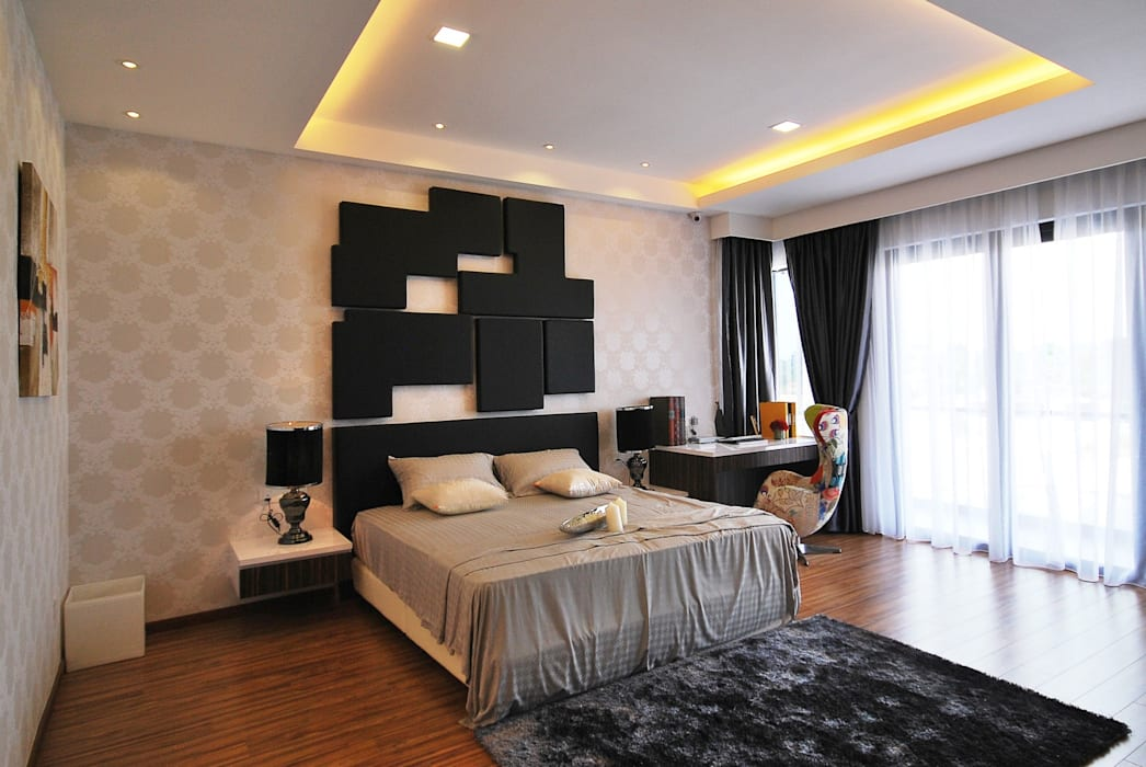 Ipoh South Modern style bedroom by Hatch Interior Studio Sdn Bhd Modern