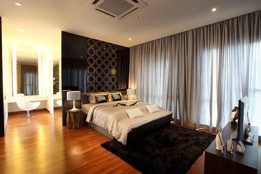 16 Sierra:  Bedroom by Hatch Interior Studio Sdn Bhd,