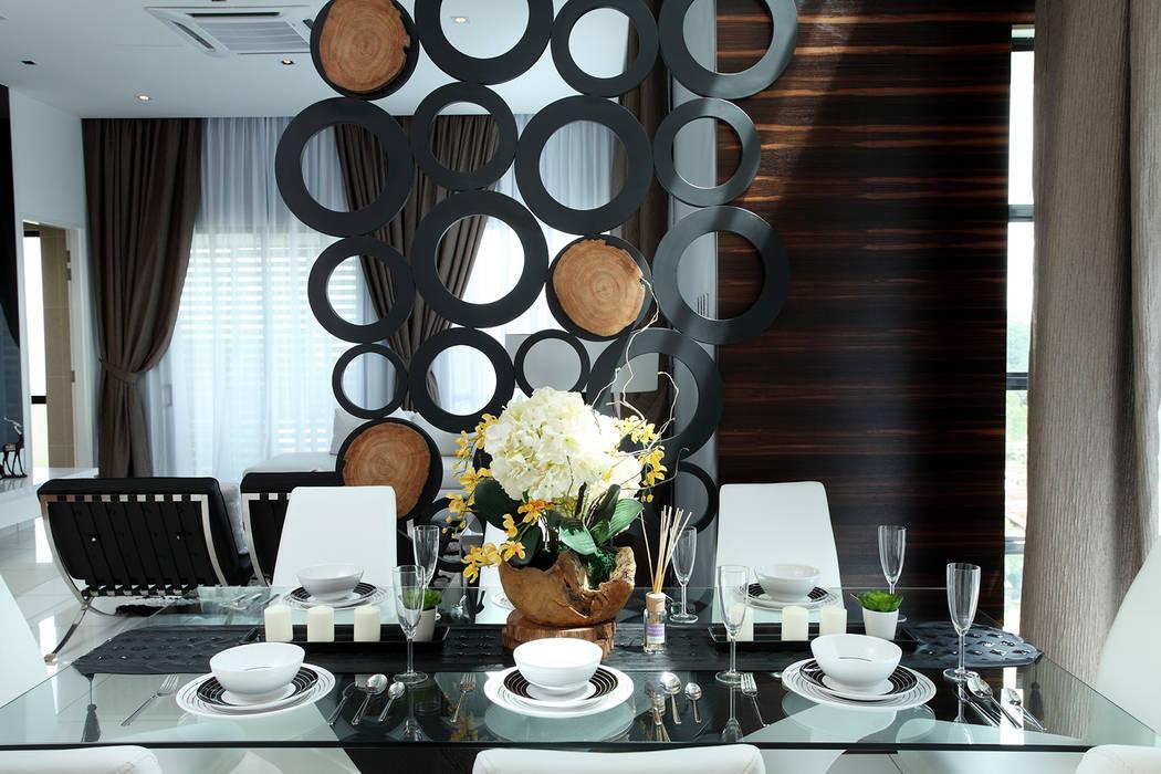 16 Sierra Modern dining room by Hatch Interior Studio Sdn Bhd Modern