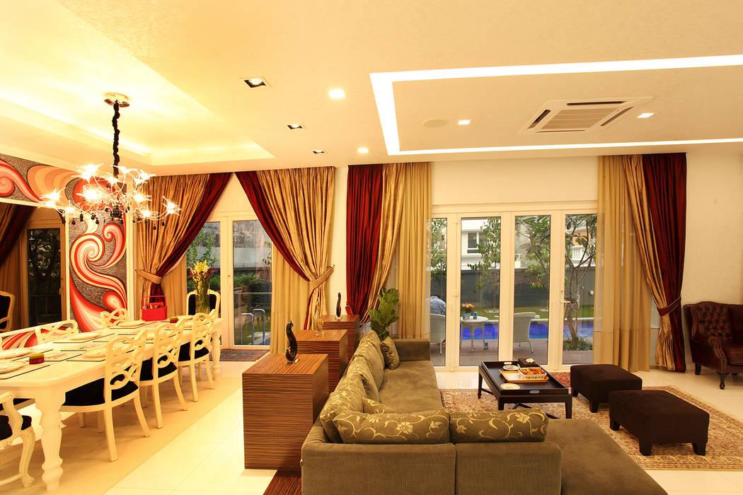 Raflessia:  Living room by Hatch Interior Studio Sdn Bhd
