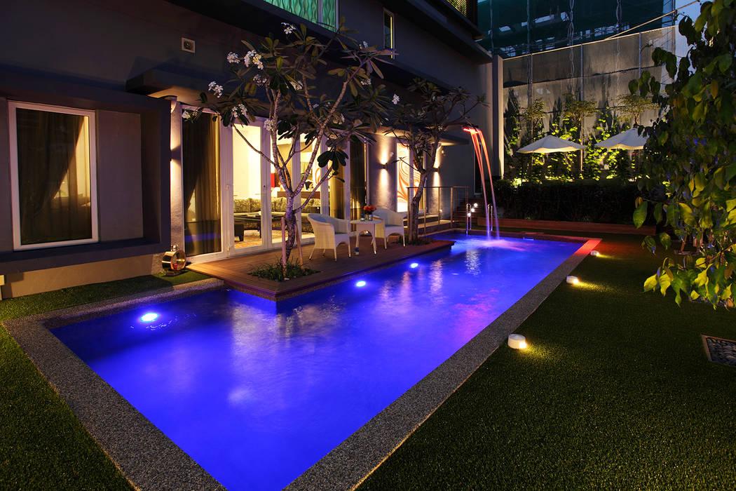 Raflessia:  Bungalows by Hatch Interior Studio Sdn Bhd, Modern