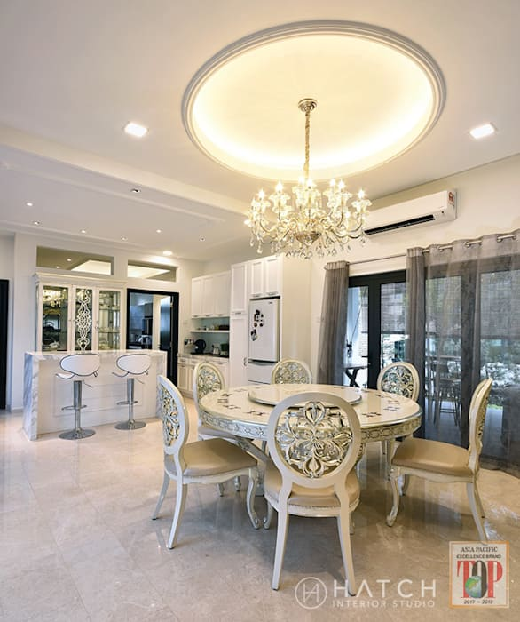 Kajang Jade Hills :  Dining room by Hatch Interior Studio Sdn Bhd
