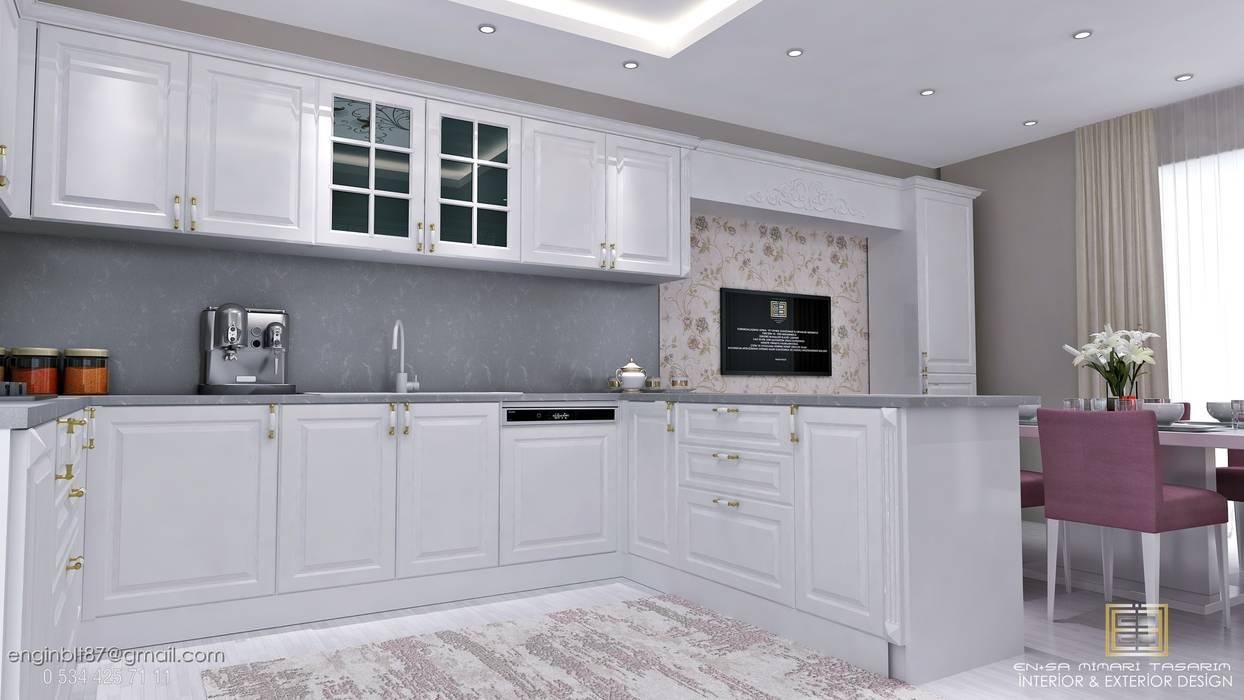 Kitchen units by EN+SA MİMARİ TASARIM