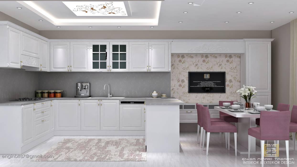 Kitchen units by EN+SA MİMARİ TASARIM, Classic